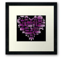 Gamer Love Framed Print