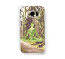 Yoga Forest Book Samsung Galaxy Case/Skin