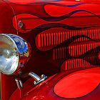 Red Flames by Keith Hawley