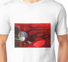 Red Flames Unisex T-Shirt