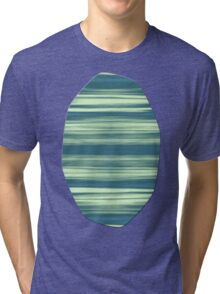 Abstraction Serenity in Afternoon at Sea Tri-blend T-Shirt