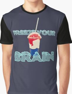 Freeze Your Brain-Heathers The Musical Graphic T-Shirt