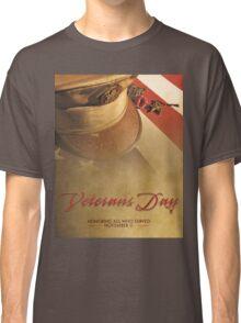 Veterans Day 2016 Bronze Star (valor) Poster Classic T-Shirt