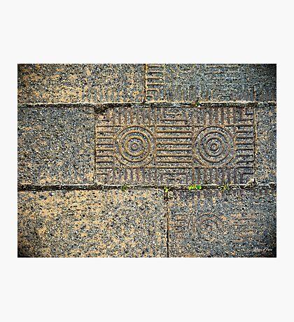 Corinth Brick Photographic Print