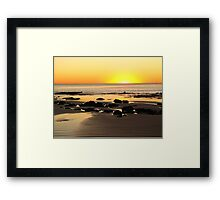 Golden Sands, Cable Beach Western Australia Framed Print