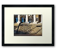 Alcorn County Courthouse, Corinth MS Framed Print