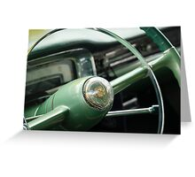 Elegant Steering - Coupe deVille Greeting Card