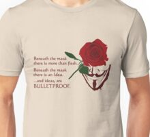 Quotes and quips - ideas are bulletproof Unisex T-Shirt