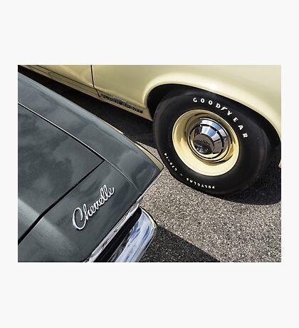 Chevelle Detail Photographic Print