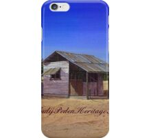 """""""Old Meathouse, Spring Valley Station, near Petford"""" iPhone Case/Skin"""
