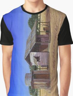"""""""Old Meathouse, Spring Valley Station, near Petford"""" Graphic T-Shirt"""