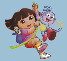 Dora One Piece - Short Sleeve