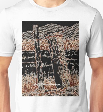 """Farmyard Gate"" Unisex T-Shirt"