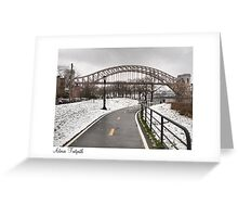 Astoria Footpath Greeting Card
