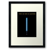 Star Wars: Episode VII Framed Print