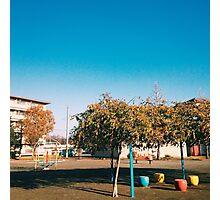 Neighborhood Playground Photographic Print