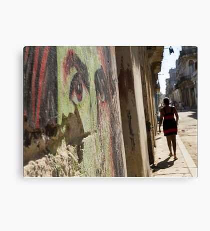 Eyes of Che Canvas Print