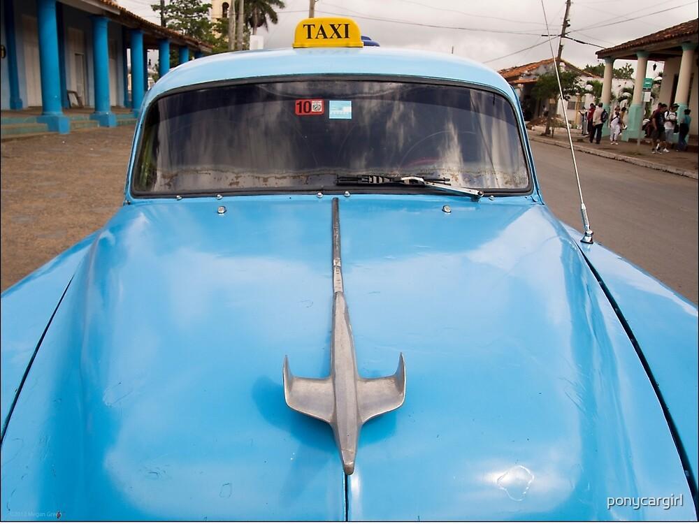 Blue Taxi - Vinales by ponycargirl