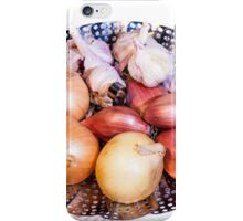 onion, shallot, garlic iPhone Case/Skin
