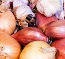 onion, shallot, garlic Sticker