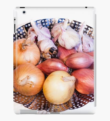 onion, shallot, garlic iPad Case/Skin