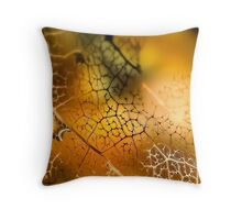 What the Candle Does Throw Pillow