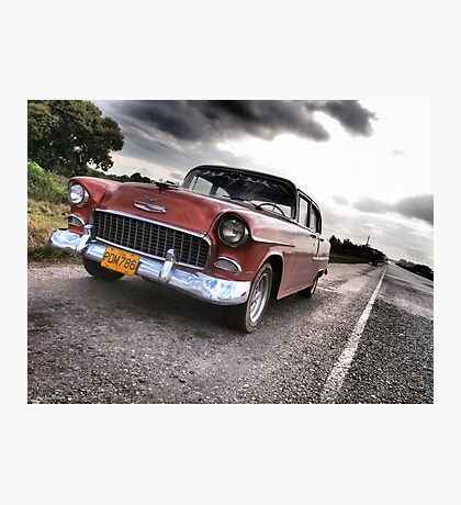 Chevy on the CD Photographic Print