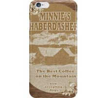 Minnie's Haberdashery iPhone Case/Skin