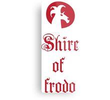 Shire of Frodo Metal Print