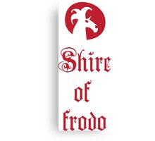 Shire of Frodo Canvas Print