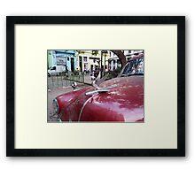 Havana Hood Ornament Framed Print
