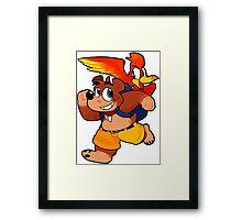 Banjo 'n Kazooie Framed Print