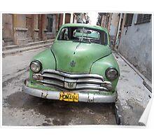 Havana Patina Poster