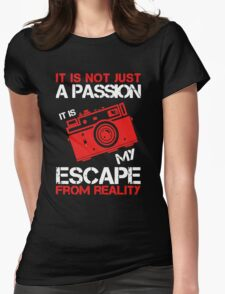I Am Just A Photographer Womens Fitted T-Shirt