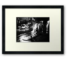 Havana Noir Framed Print