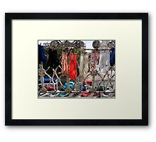 Havana Traffic Framed Print