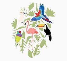Exotic Birds Pattern Unisex T-Shirt