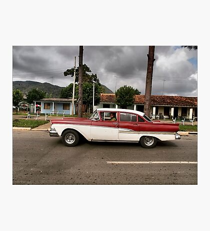 '58 Ford - Vinales Photographic Print