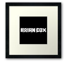 Brian Cox / Green Day (Monsters of Grok) Framed Print