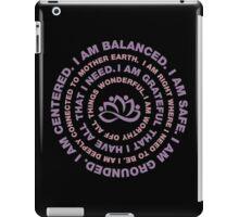 Yoga Motivational iPad Case/Skin