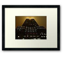 Empire Gold 2 Framed Print