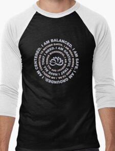 Yoga Beautiful Saying Men's Baseball ¾ T-Shirt
