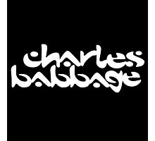 Charles Babbage / Chemical Brothers (Monsters of Grok) Photographic Print