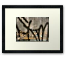 Astoria Graffiti Framed Print