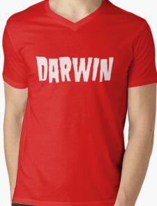 Charles Darwin / Danzig (Monsters of Grok) Mens V-Neck T-Shirt