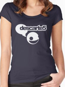 Rene Decartes / Deadmau5 (Monsters of Grok) Women's Fitted Scoop T-Shirt