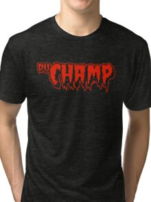 Marcel DuChamp / The Cramps (Monsters of Grok) Tri-blend T-Shirt