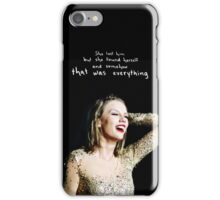 Clean Hidden Message 1 - Taylor Swift iPhone Case/Skin