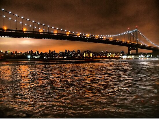 The Triborough and the Skyline by ponycargirl