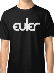 Leonhard Euler / Blur (Monsters of Grok) Classic T-Shirt